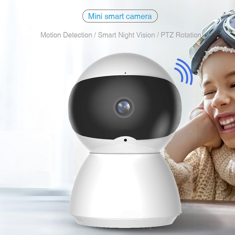 Newest HD 1080P IP Camera WiFi Wireless Night Vision Auto Tracking Home Security Surveillance CCTV Network Baby Monitor Mini Cam