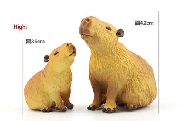 Original Japan Rement Animal Capybara Model Collectible Figurine Figure Toy Kids Gift