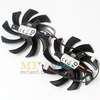 Emacro For Cooler Master FY09010H12LPB double Fans Server Cpu Fan DC 12V 0.45A Dia. 85mm C.T.C 49x46x26mm 4 Wire
