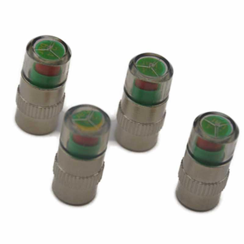 4ピース車のタイヤ圧力センサータイヤ空気圧監視システム車のタイヤ圧力センサー警報オート車のタイヤ空気バルブキャップ空気アラートセンサーユニバーサル