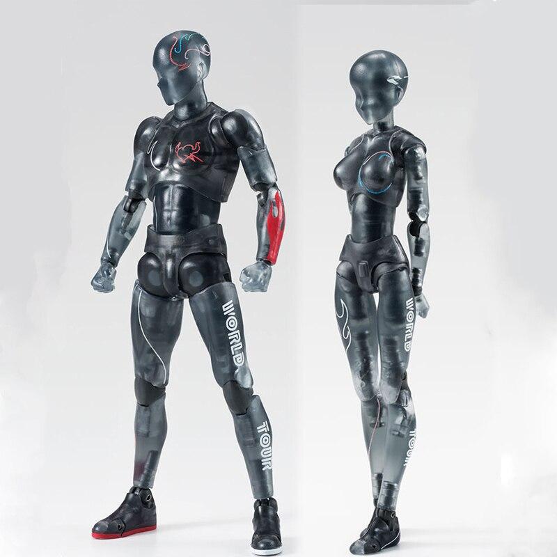 Savemoneyking 1pcs 14cm Anime Action Figure Toys Pvc Body Figures