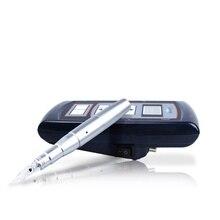 Caneta dermografo дермограф для бровей ЛЕГКО нажимает постоянные наборы для машинного макияжа с татуировкой питания для татуажа бровей губ