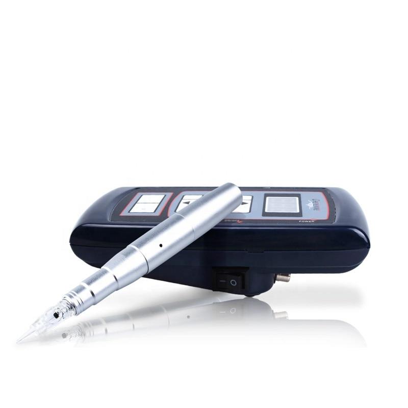 caneta dermografo eyebrow dermograph easy click Permanent Makeup machine Kits with Tattoo Power Supply For Tattoo Eyebrow Lip