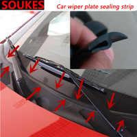 1.7M Rubber Car Wiper Windshield Panel Sound Seal Strip For Audi A4 B7 B5 A6 C6 Q5 Honda Civic 2006-2011 Fit Accord CRV