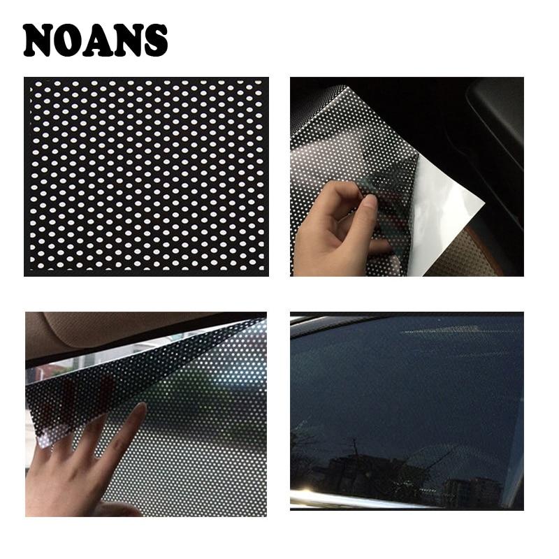 NOANS Car Static Cling Shield Screen Visor Side Window Sunshade Cover For Lada granta vesta Opel Astra h g j insignia vectra c