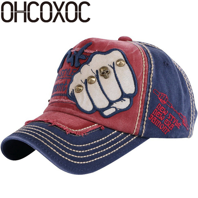 5be293f3f8d7d OHCOXOC new trendy women men novelty baseball cap Good quality cotton  washable spring summer autumn sports caps hats