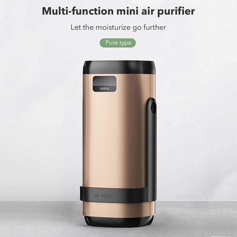 MeiLing Negative Ion Purifier Portable Oxygen Air Cleaner 360 Degree Adjust Ionize Air Purifier Filter For Car Purifiers in Air Purifiers from Home Appliances