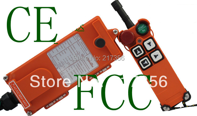 F21 4S include 2 transmitter and 1 receiver industrial remote control crane Remote Control wireless remote