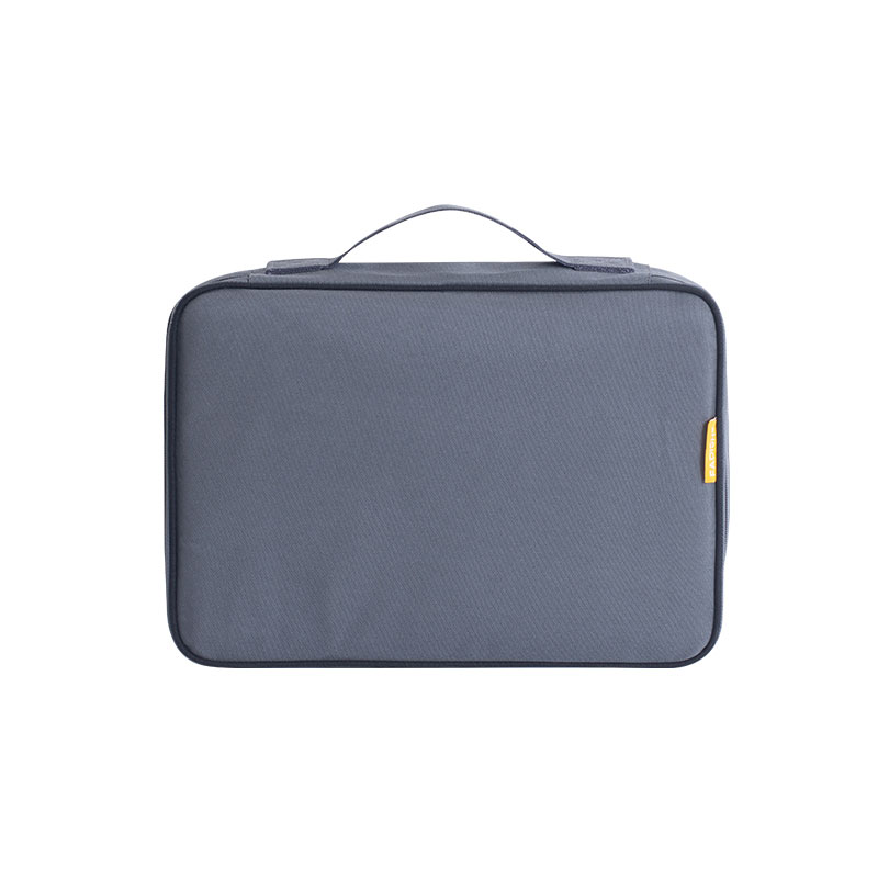 15 Inch Waterproof Nylon Briefcases Simple Large Capacity Zipper Men And Women's Certificate Organizers With Quick Grab Handle