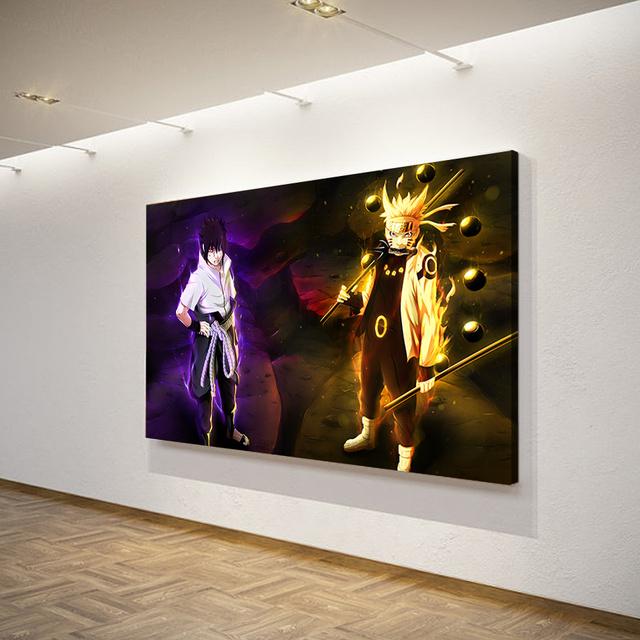 Naruto And Sasuke HD Posters And Prints