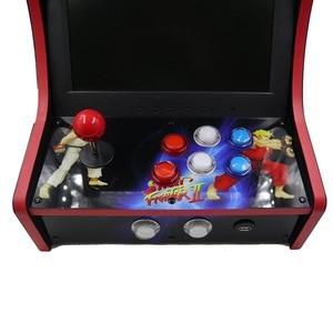 Image 4 - RAC B400 Mini Bartop Arcade Joystick Game Machine Kast Raspberry Pi 4 Model B 4Gb 128G Retro Game Console sf