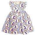 Novo Design Crianças Define Crianças Conjuntos Bonito primavera plissado vestidos de festa de meninas Outfits Define Bebê Do Feriado do dia de Páscoa