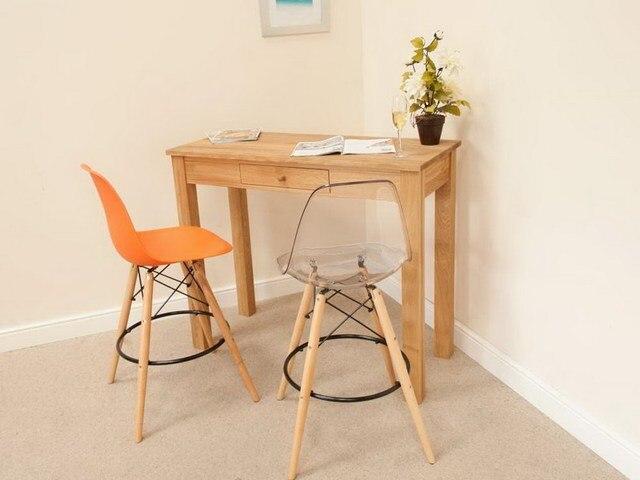 Transparent Modern Design clear loft Plastic Wood Counter Bar Stool ...