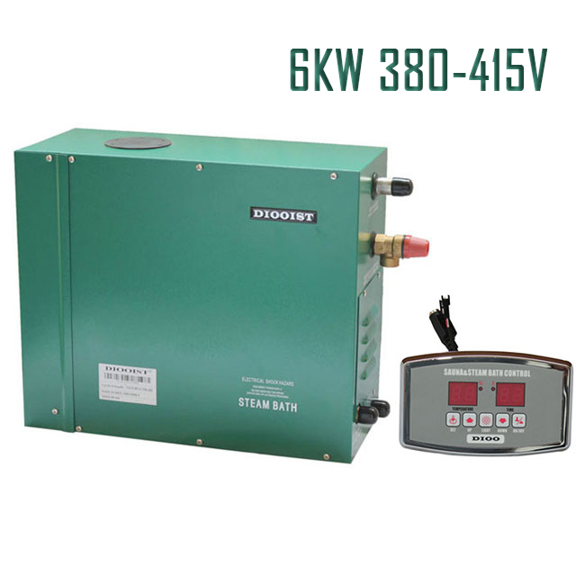 6KW380-415V 50HZ Spa Home use Energy conversation Wet Sauna steam generator factory directly sales, CE certified well made