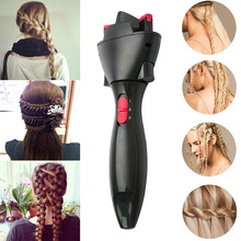 Creative DIY Hair Fast Styling Knotter Smart Electric Braided Machine Twist Curling Iron Tool HY99 NO07