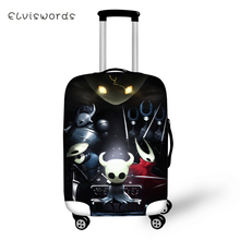 ELVISWORDS Suitcase Protective Cover Cartoon Elastic Dust-proof Hollow Night Prints Pattern Travel Luggage Accessories