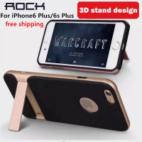 For IPhone 6 6s Case ROCK Royce 3D Stand Design Ultra Thin Dual Layered Armor Protective