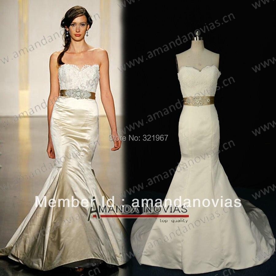 amanda novias real stunning plain satin bridal dress summer wedding vintage dress ns66china