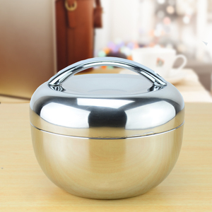 apple shape thermal insulation stainless steel lunch box Bento food container food storage tiffin box dinnerware set