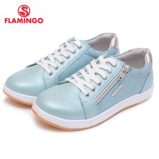 FLAMINGO 100% Russian Famous Brand 2016 New Arrival Spring Kids sneakers Fashion High Quality Children shoes 61-XP146