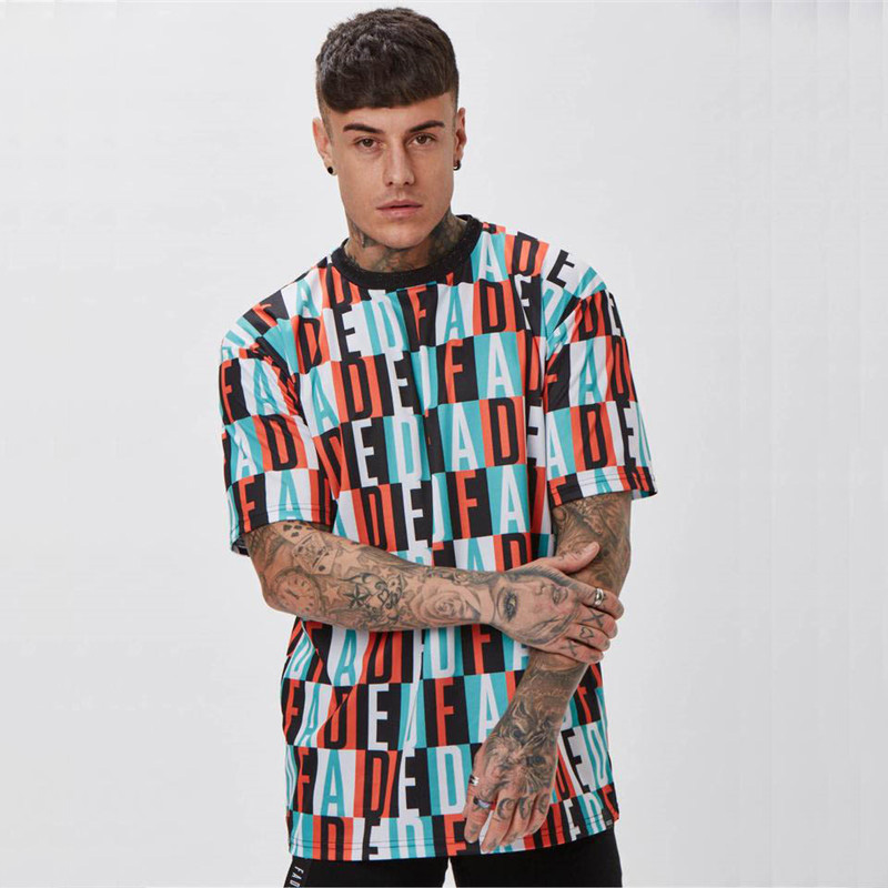 Jogger men 39 s sportswear 2019 summer men 39 s casual T shirt streetwear fashion men 39 s short sleeved shirt brand men 39 s clothing in T Shirts from Men 39 s Clothing