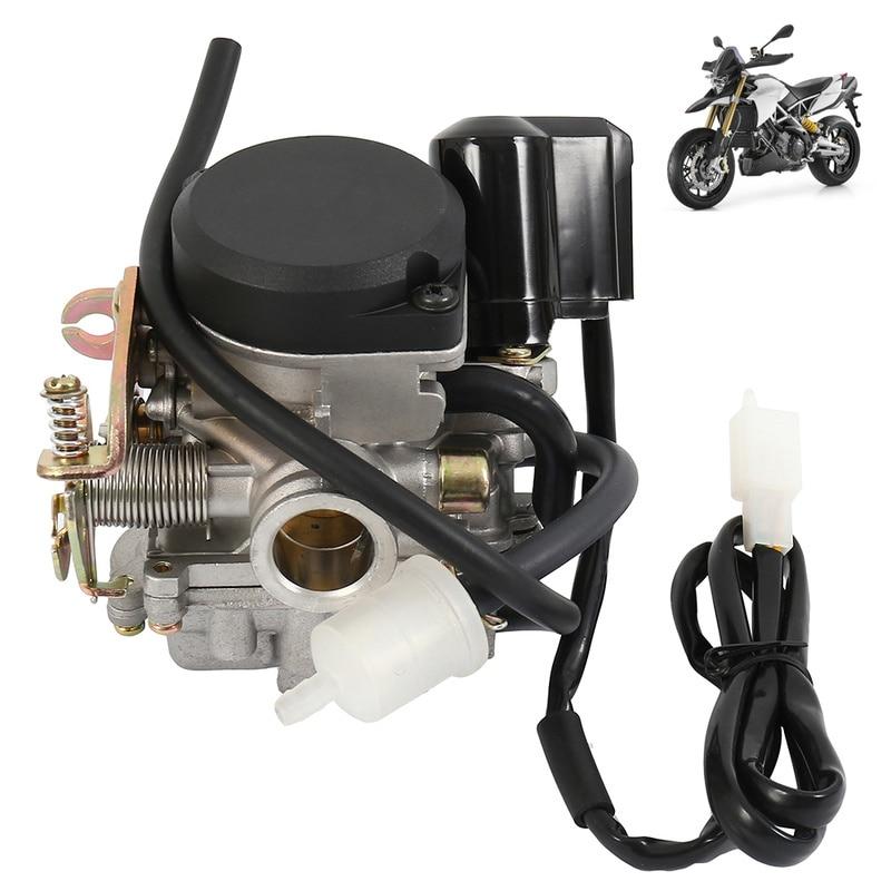 19mm Cable Choke Carburetor CARB 50 90 110 125cc ATV Roketa TAOTAO NST Alloy Fuel Supply Motorcycle Accessories