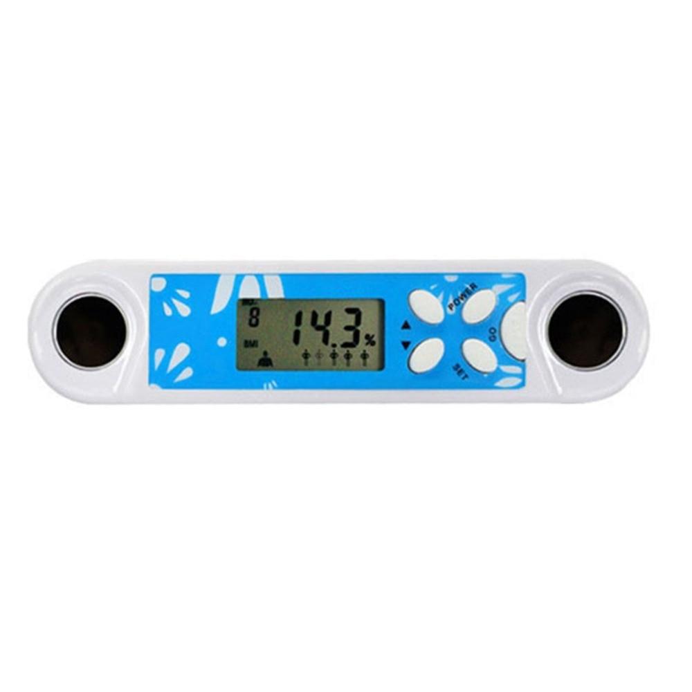 цена на Multifunction Fat Tester Adipose Body Fitness Measuring Instruments Mini Portable Digital Fat Analyzer with Clock Function