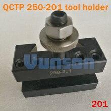 """QCTP 250 201 szybka wymiana uchwyt narzędziowy uchwyt tokarski i czołowy do narzędzi skrawających tokarka max. 5/8"""""""