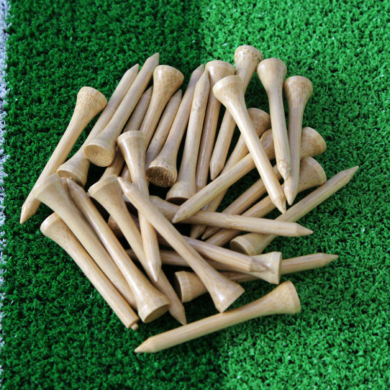 2017 New Hot Sale bamboo golf tee 54mm 100Pcs/pack Golf Tees,Free Shipping