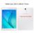 Para samsung galaxy tab a 9.7 t555 t550 9.7 polegadas tablet estande alça de mão carteira de cartão de couro de luxo da tampa do caso