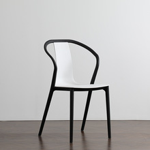 Modern minimalist home furniture creative plastic chair Nordic INS outdoor casual restaurant conference personality office chair