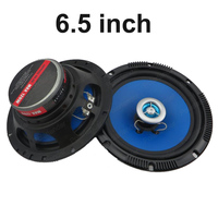 1 Pair 6 5 Inch Car Audio Horn Speakers Coaxial Car Speaker 2 Way 2x120W Car