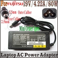 Universal Notebook Adapter 19V 4.22A Laptop Charger For fujitsu F4814A FMV-AC314 ADP-80NB ACP410710-01 FMV-AC325A AH530,