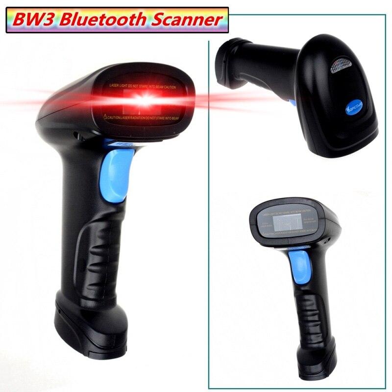 yk bw3 wireless bluetooth handheld barcode scanner ean upc usb laser