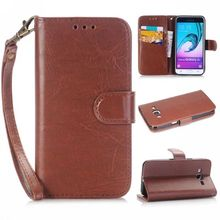 For Samsung Galaxy A310 A5 A510 A710 Case Leather Luxury Vintage Wallet Flip Case For Samsung Galaxy E7 S7392 G530 G360 Cover
