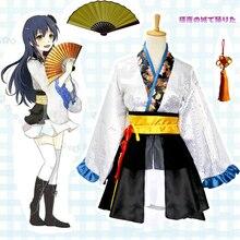 цены Love Live Cosplay Sonoda Umi Cosplay Costume Kimono Anime LoveLive Nishikino Maki Honoka Honoka Eli Dancer Kimono Costume