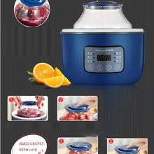 Фермент производитель бытовой автоматический йогурт машина DIY йогурт производитель 6 в 1 автоматический йогурт фермент плита 2L