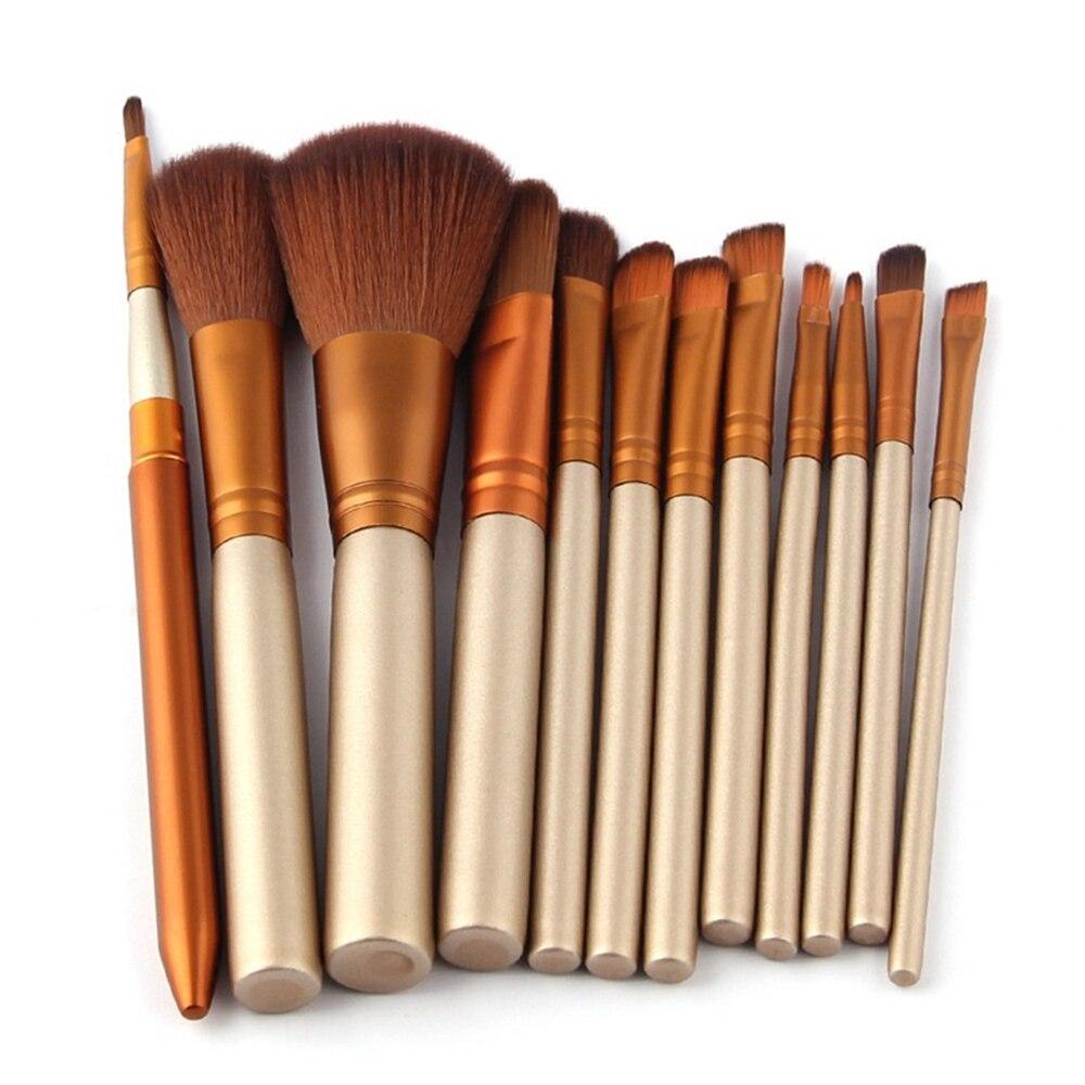 makeup brushes 12 pcs NK Brushes set synthetic brush Tools Professional Face make up set Eye shadow Powder foundation brush