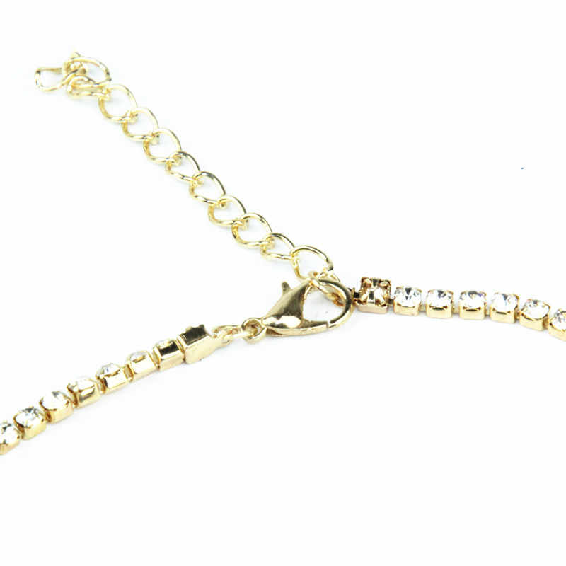 New Luxury Design Crystal Choker Rhinestone Necklace Accessories Necklace Necklace Jewelry for Women