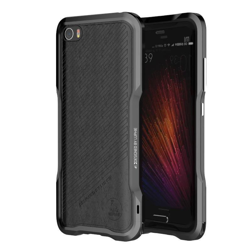 bilder für 2017 stoßstange Mi5 Fall aluminium metallrahmen Zurück Handy-Cover für Xiaomi Mi5 Coque Fall Mi 5 fundas mi 5 capa kostenloser verschiffen