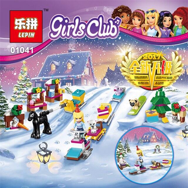 Lepin Friends Girl 243pcs Building Blocks Toy Advent Calendar Kids