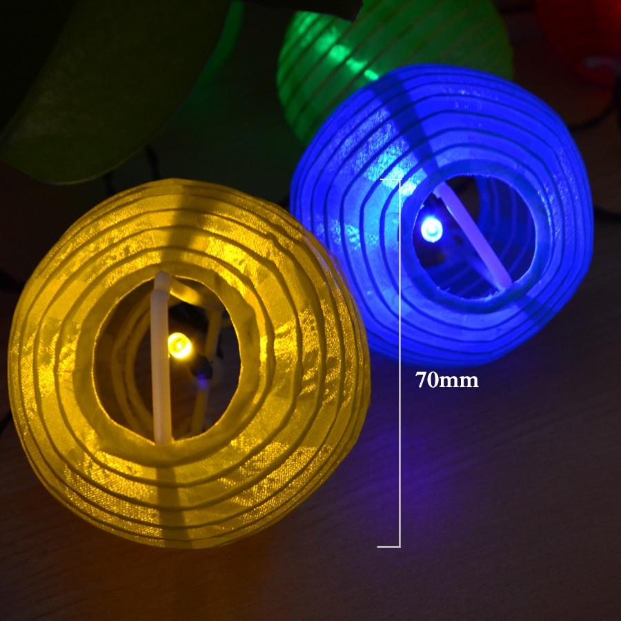 Lantern Ball Solar LED Stränglampor 20 LED Solar Lamp - Festlig belysning - Foto 3