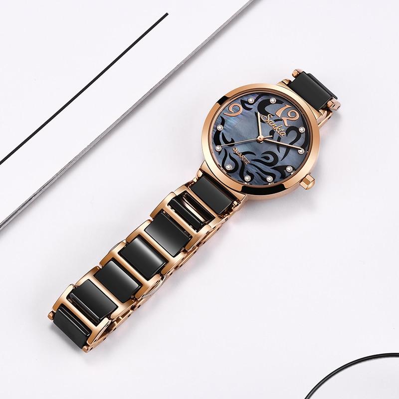 Image 5 - SUNKTA 2019 Hot Brand Women Watches Women reloj mujer Luxury Dress Watch Ladies Quartz Rose Gold Wrist Watch Montre Femme Gift-in Women's Watches from Watches