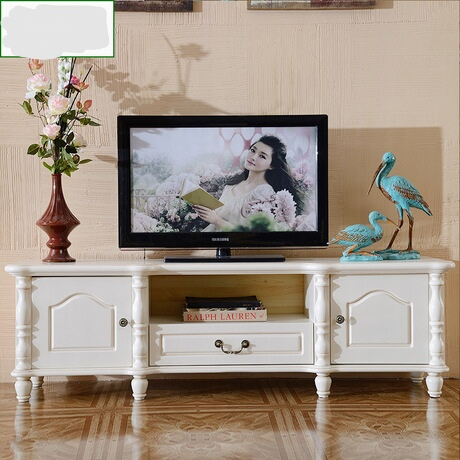 US $2851.99 8% OFF|TV Stands Living Room Furniture Home Furniture panel TV  cabinet simple white storage small apartment floor cabinet 160*40*48 cm-in  ...
