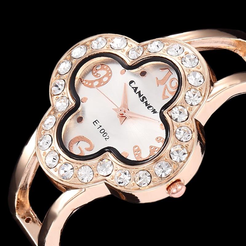 2016 Luxury Brand New Fashion Women Cuff Bangle Watch