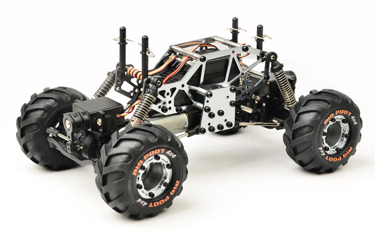 RC Car 2.4G Rock Car 4 WD Simulation Racing Car 1 / 24 Off-Road Vehicle Buggy Light Weight Electronic Model Toy Kid Gift 2016 best electric toy 4wd05 rc electric rock crawler king1 12 scale rc off road vehicle rechargeable battery