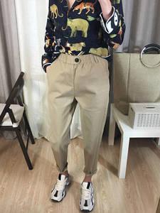 BIVIGAOS 2019 Casual Harem Pants Korean Cargo Pants