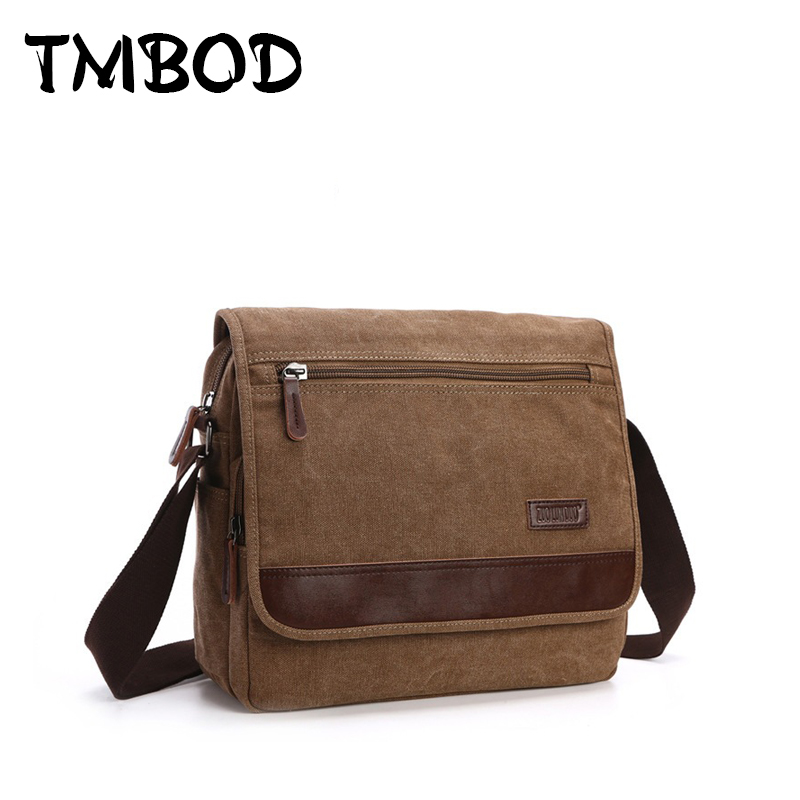 New 2018 Design Men Canvas Messenger Bag High Quality Vintage Handbags Satchels Crossbody Shoulder Bags Military bolsa an716 augur new men crossbody bag male vintage canvas men s shoulder bag military style high quality messenger bag casual travelling