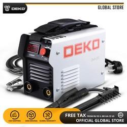 DEKO DKA Classical Series DC IGBT Inverter ARC Welder 220V MMA Welding Machine 120/160/200/250 Amp for Home DIY Beginner