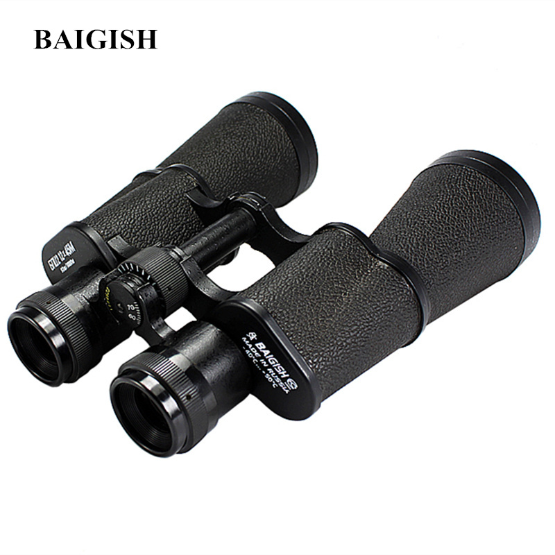Original Russian Military Binoculars Baigish 12X45 Powerful Telescope Quality Full metal binocular Lll Night Vision for